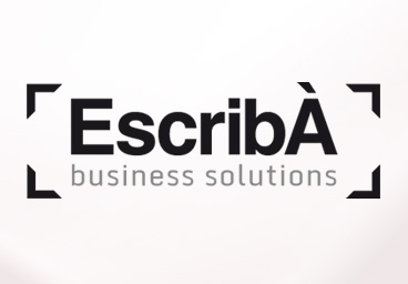 Imatge corporativa - Disseny del logotip d'Escribà business solutions